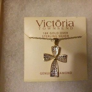 Victoria Townsend 18K Gold Over Sterling Silver